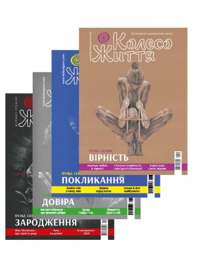 Подборка журналов Колесо Жизни за 2020 год